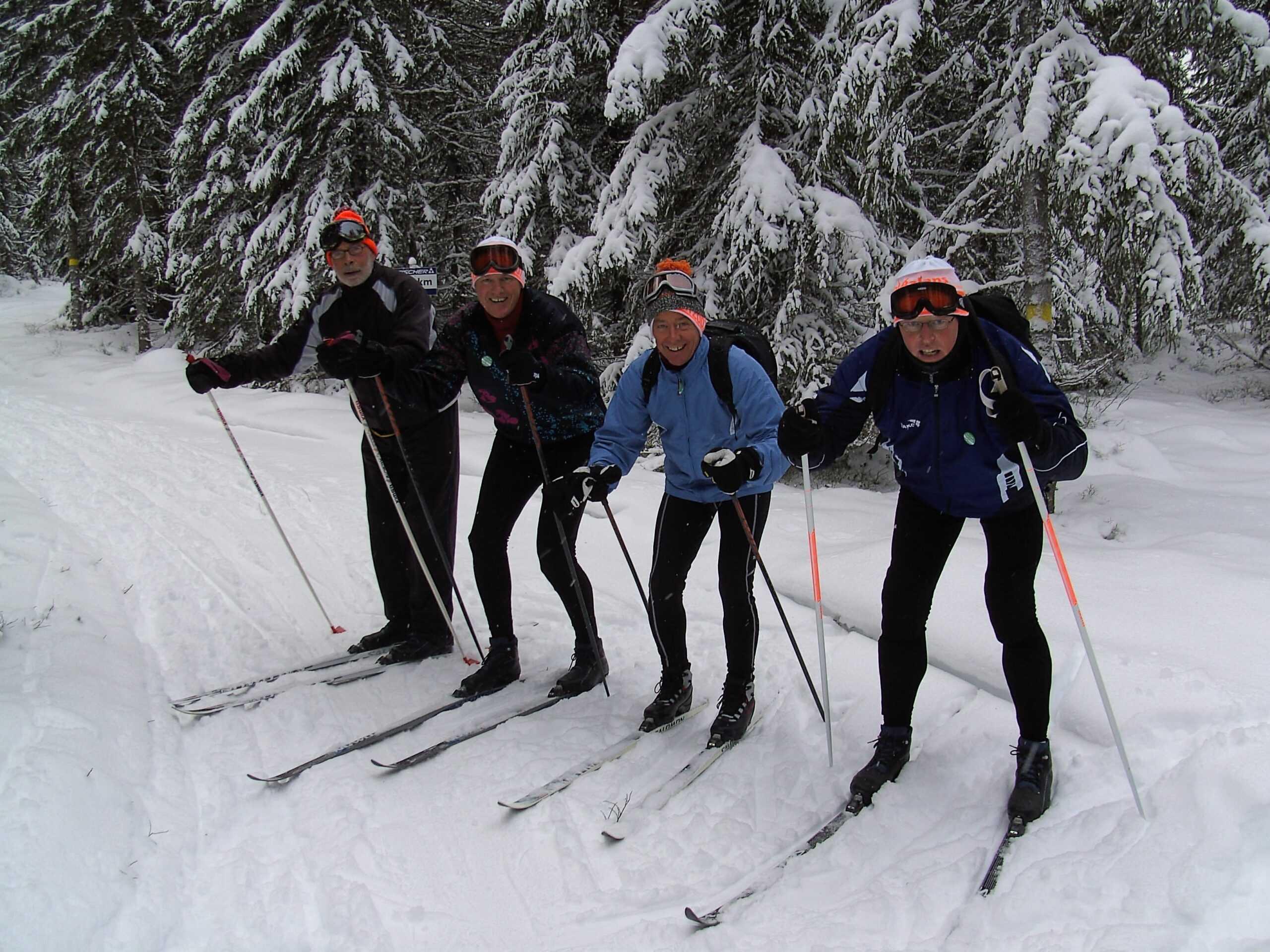 Langlaufen in Zweden met inbalansalkmaar