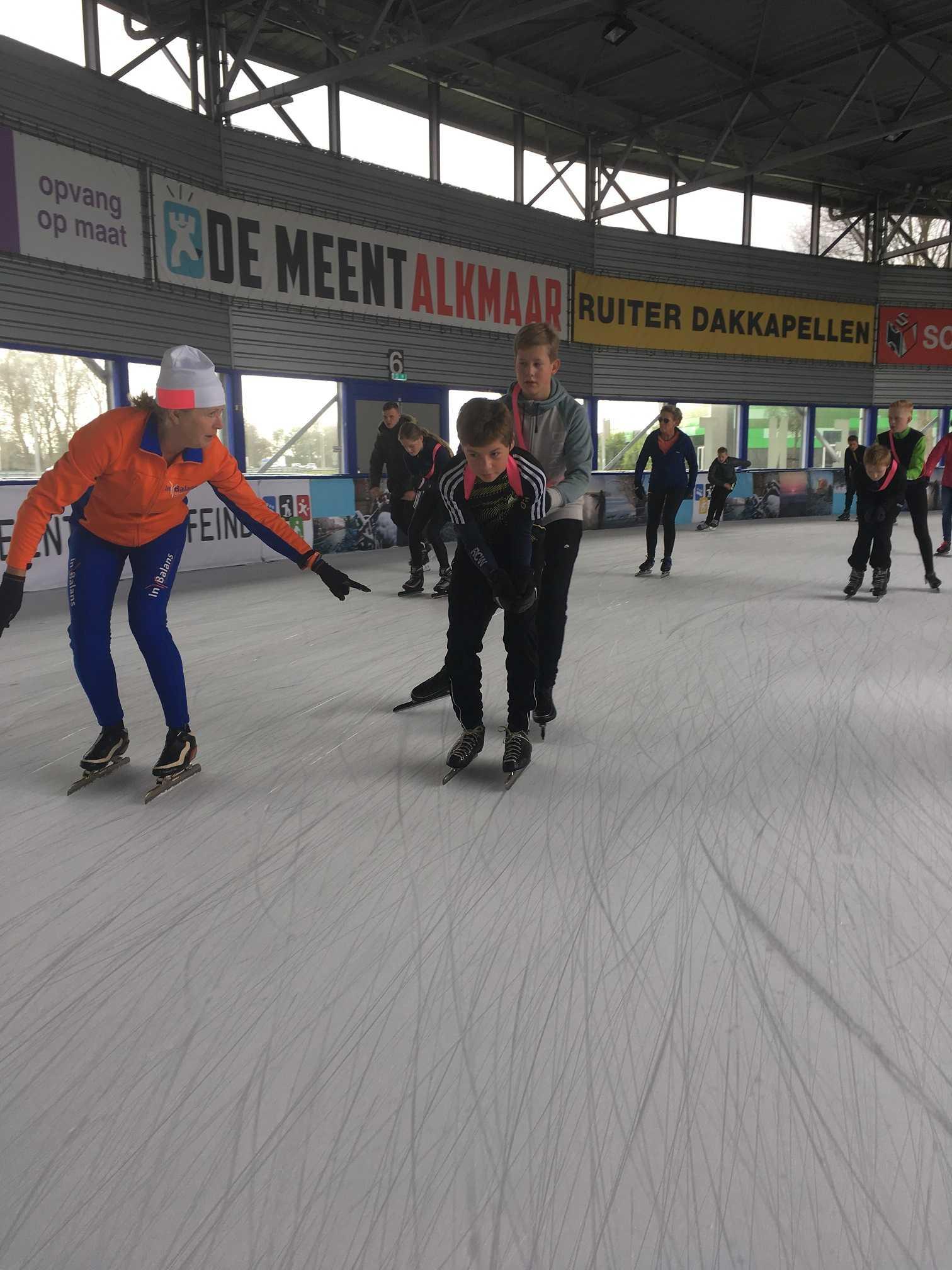 Prive schaatslessen bij In Balans Alkmaar