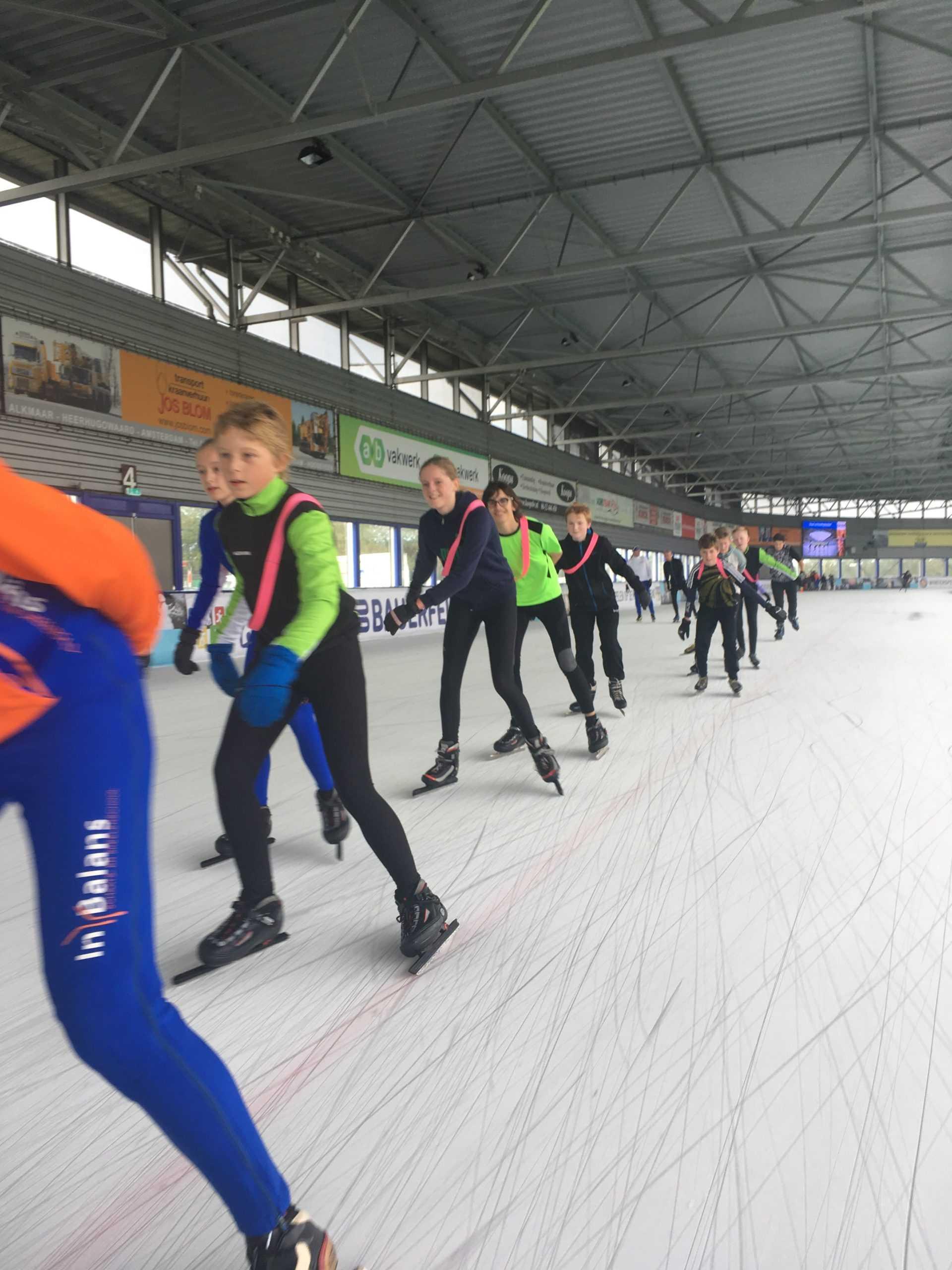 midjeugdschaatsen / pubers met In Balans Alkmaar