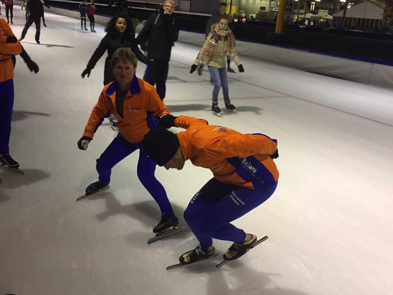 Bochten schaatsen bij In Balans Alkmaar