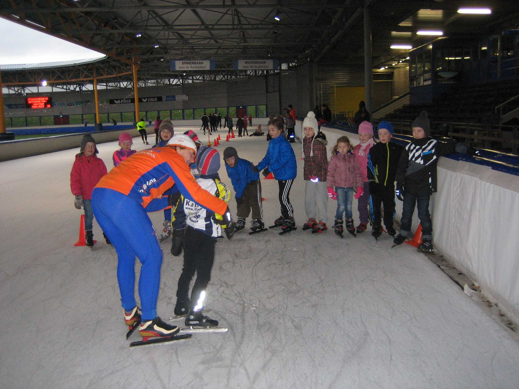 jeugdschaatsen met In Balans Alkmaar