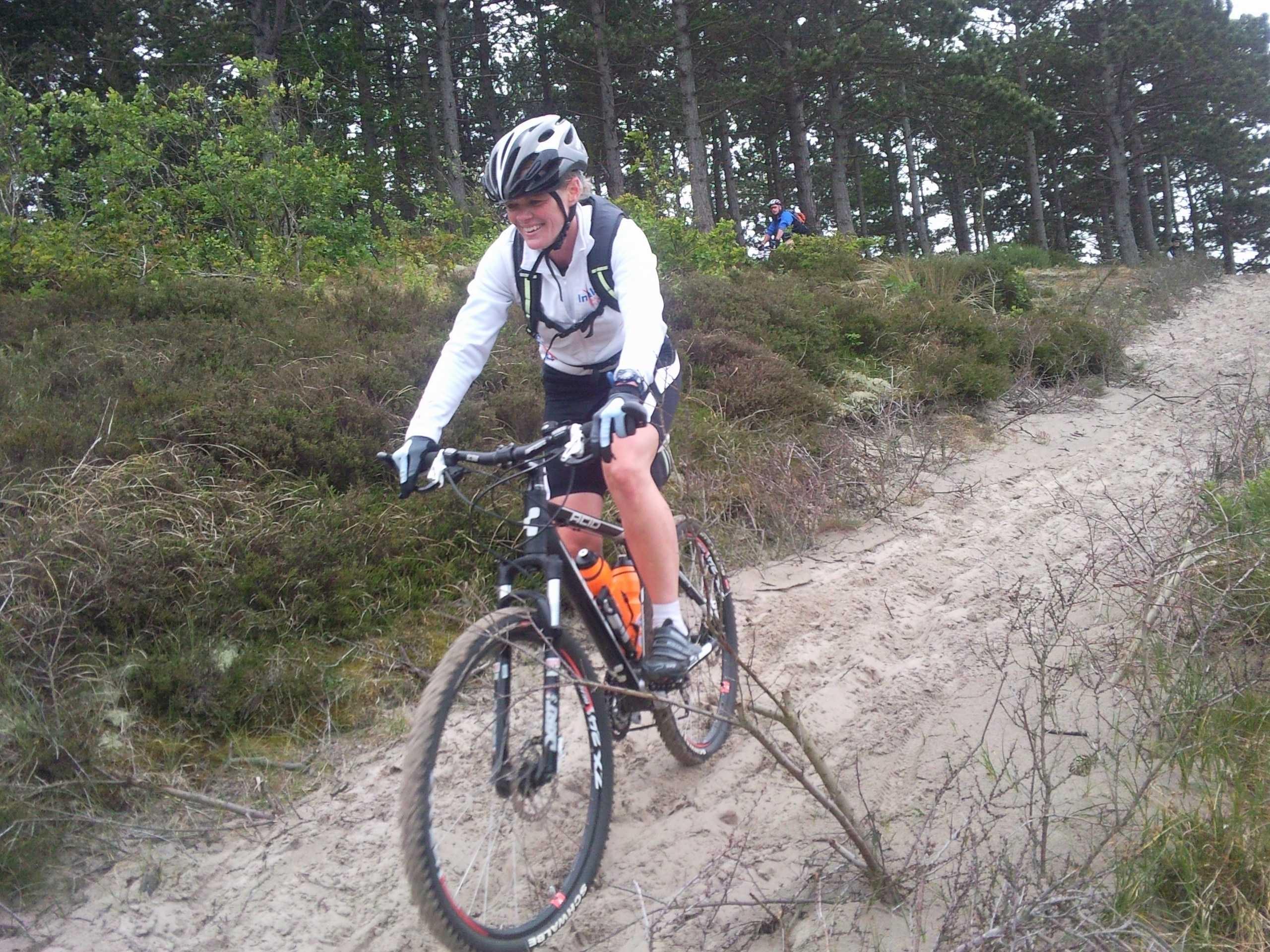Mountainbiken met In Balans Alkmaar