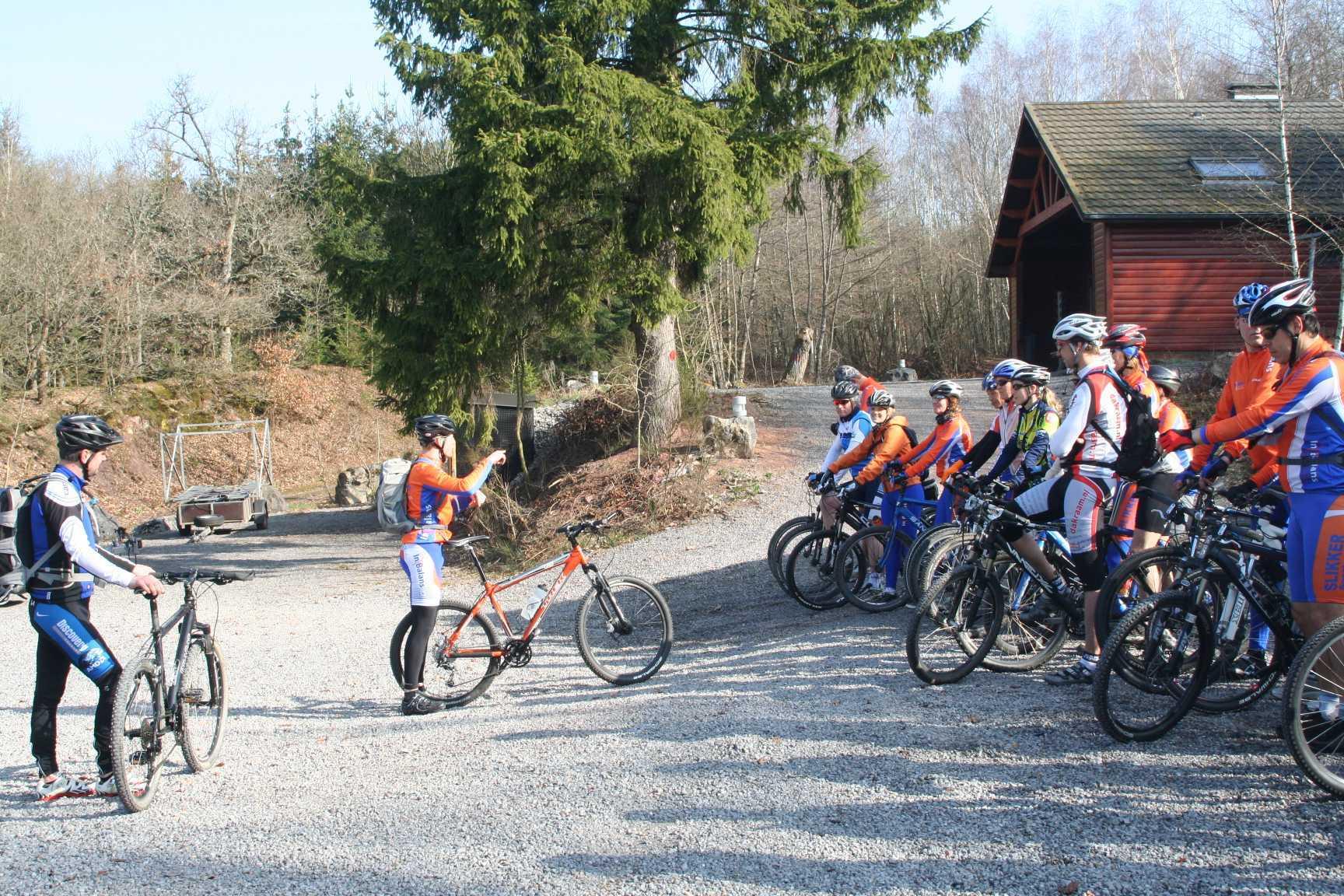 mountainbiken met inbalansalkmaar