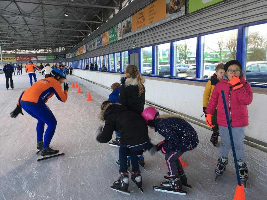 jeugdschaatsen bij In Balans Alkmaar