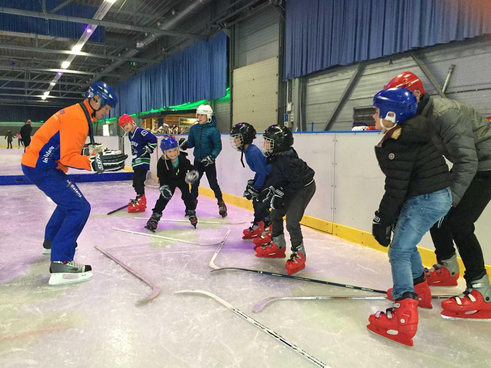 IJshockeyen met inbalansalkmaar