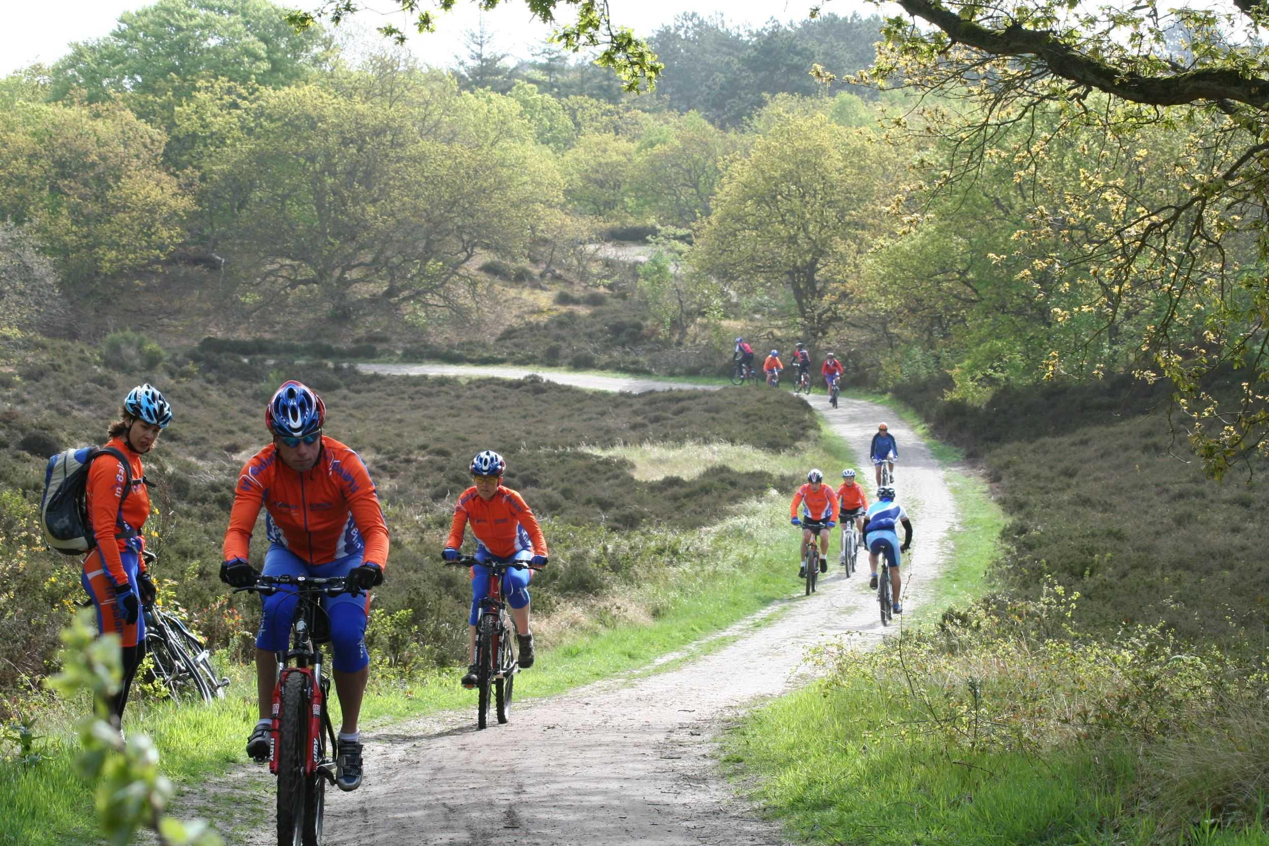 Mountainbiken bij In Balans Alkmaar