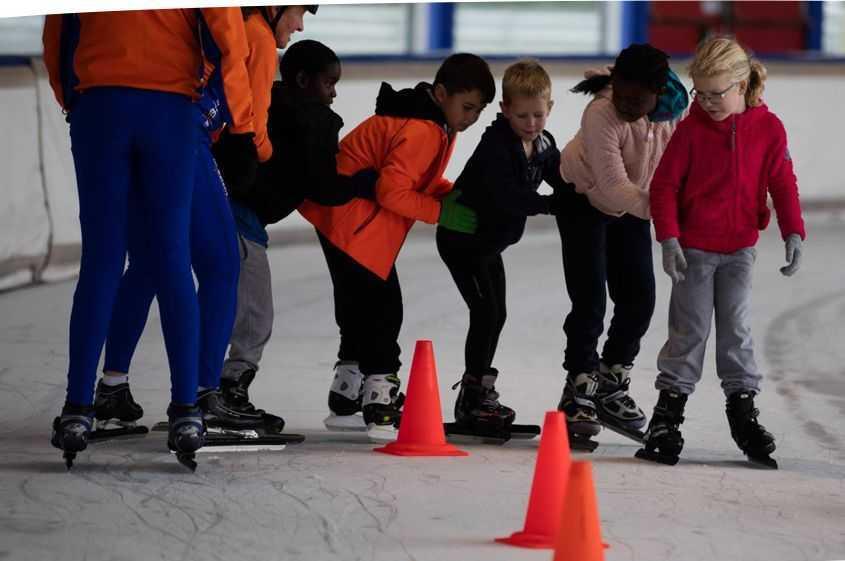schaatsles bij In Balans Alkmaar